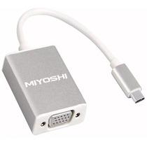 Cable Usb C 3.1 A Vga Adaptador Macbook Thunderbolt 3 Nuevo!