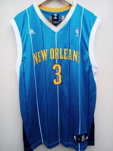 Camiseta Nba New Orleans Hornets - Paul3 - adidas 095d23561b3