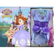 Disfraz Sofia Princesa Sofia Cumple Regalo Sirenita Rapunzel