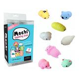 Squishy Mochi Kawaii Box Caja X10 Squishies Animales Gato