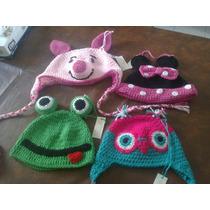 Gorros Infantiles Tejidos Al Crochet