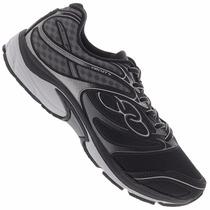 Zapatillas Olympikus Modelo Running Circuit 4 Negro/gris
