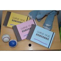 Cuadernos Artesanales Preimpresos Momentos Recuerdos Hijos
