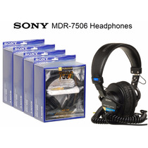 Auriculares Sony Mdr 7506 Nuevos En Caja Envío Gratis Caba