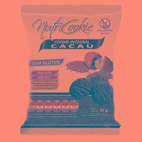 NutriCookie Integral de Cacau Sem Gluten - 35g - NutriPleno