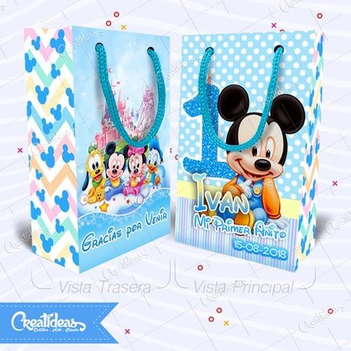 93e194cbf Mickey Bebe Celeste Disney Bolsitas Personalizadas Pack X10 en venta en  Tunuyán Mendoza por sólo $ 192,52 - CompraMais.net Argentina