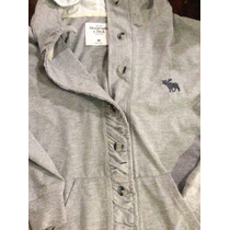 Campera Hoodie Abercrombie And Fitch Mujer