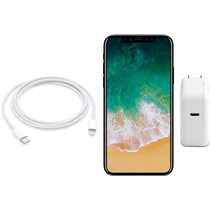 Combo Cargador Usb-c 29w + Cable Apple Carga Rapida Iphone
