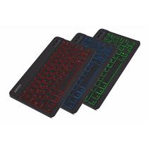 Teclado Arteck Retroiluminado Portable Bluetooth Recargable