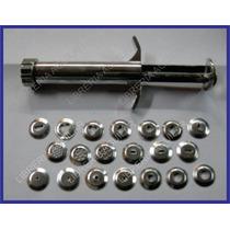 Eyector Metalico 19 Discos Metal Extrusor Para Toda Masa