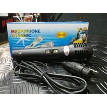 Microfono Profesional Karaoke Dynamic Con Cable Sm-338