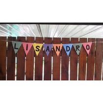 Banderines Personalizados Artesanales