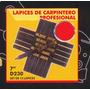 Lapices De Carpintero Profesional Set De 12 Black Jack D230#