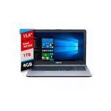 Notebook Asus Vivobook X541na Intel N 4gb 1tb 15.6 Win Orig