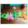 Guirnalda Banderín De Cactus Decoración Fiestas Cumpleaños