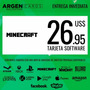 Tarjeta Saldo $26.95 Minecraft Premium - [entrega Inmediata]