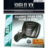 Sega Consola +2 Joystick +5 Juegos Incorporados (*f)