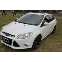 Ford Focus Iii Sedan Titanium 2.0 Duratec 2014 Unico Dueño