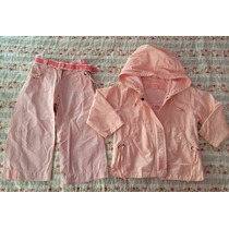 Conjunto 2/3 Años Mimo Campera Capucha Y Pantalón Cinturón