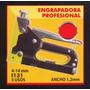 Engrapadora Profesional 4-11mm Black Jack I131#