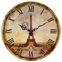 Reloj De Pared De Madera Con Diseño - 30cm - Sin Vidrio!