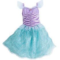 Disfraz Vestido Princesa Ariel Sirenita Disney Store 2016