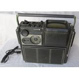 Vintage Radio Televisor Sanyo 5-t510r, Japon, Funciona Mal