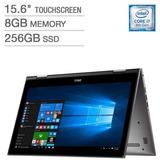 Ultrabook Dell 2en1 Notebook I7 8ºgen Quad 8gb Ssd256 15,6