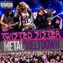 Twisted Sister Metal Meltdown Blu-ray + Dvd + Cd