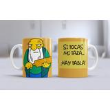 Plantillas Sublimación Tazas - Los Simpsons / 40 Diseños