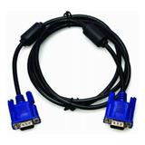 Cable De Vga A Vga  - Con Filtros - 1,5 Metros Ditron