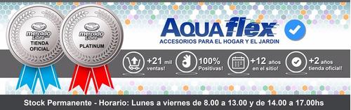 Canilla 1 Agua Plastica Mesada Pico Movil Cromado Aquaflex