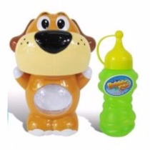 Burbujero A Pilas Bubble Animals Perrito Con Aza Facil