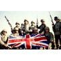Foto 13x18 Guerra De Malvinas Soldados Bandera Inglesa