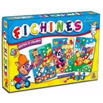 Fichines Loteria De Colores Juego De Implas