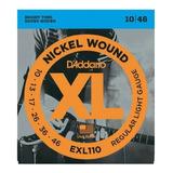 Encordado D'addario Exl110 Guitarra Electrica 10/46