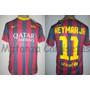 Camiseta Del Fc Barcelona De España Messi Neymar