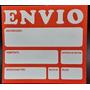 Etiqueta Para Envios Encomiendas Despacho X 50 Unidades
