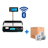 Balanza Kretz Aura Eco 2 31kg Impresor De Ticket + 50 Rollos