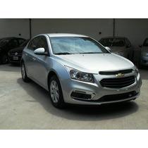 Chevrolet Cruze Lt 5 Pts Gris Okm Anti Y Cuotas...
