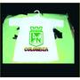 Hermosa Camiseta De Bebe De Atletico Nacional Colombia