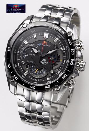 22b4ddfb81fd Reloj Casio Edifice Ef-550rbsp Vettel Red Bull ( 550 Rbsp )