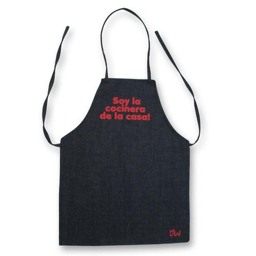 Delantales de cocina de jean soy el cocinero de la casa for Delantales de cocina