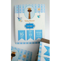 Tarjetas Invitaciones Baby Shower X 20u