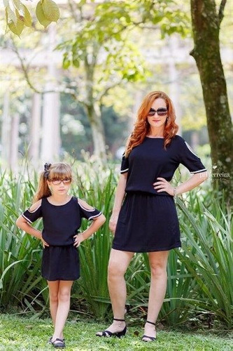 Vestidos casuales de madre e hija