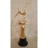 Trofeo Plástico Gimnasia Deportiva Danzas Columna Souvenir