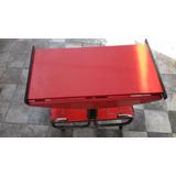Mesa Bar Retro Color Roja Plegable