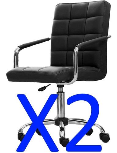 Sillon Ejecutivo Silla Oficina Gerencial Escritorio Pc - X2 ...