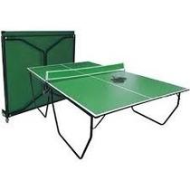 Mesas De Ping Pong Profesional Plegable Perfiles Acero Unica