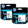 Cartucho Hp 21 Negro - 22 Color - Oferta En Combo! Original